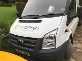 Transit tipper great condition