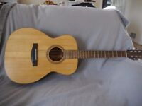 Acoustic guitar, hand built