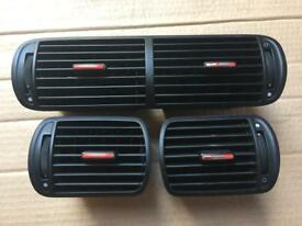 Seat Leon Cupra R Air-Vents Dashboard Vents Genuine OEM