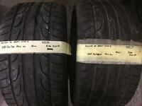 285/30/20 99Y XL Dunlop Sp Sport Maxx J Pair Of 2 Tyres