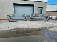 Grey hat 3&2 seater sofas, couches, furniture 🚛🚚