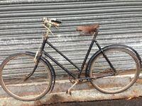 1942 Vintage Single-speed Ladies Vindec Bicycle