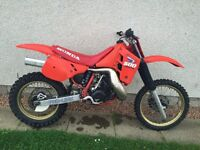 1987 HONDA CR 500 MOTOCROSS SUPER EVO