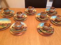 Highland tea service