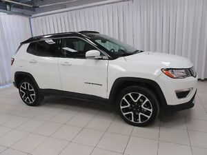 2017 Jeep Compass LIMITED 4X4 SUV W/ BACK-UP CAM, DUAL CLIMATE C