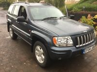 Jeep Grand Cherokee limited editionREDUCED LOW MILEAGE