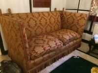 THE KNOLE SOFA COMPANY HAND MADE reduced to £450! 200widex100cmdeep FANTASTIC CONDITION (cost £4500)