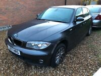 2007 bmw 116i in grey! Non runner! Spares or repairs!