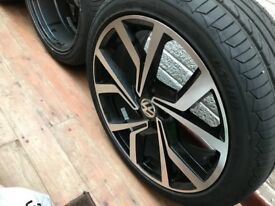 New Alloys with brand new tyres 400 GBP