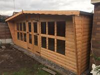 Sale now on.all our sheds summer houses are at rock bottom prices