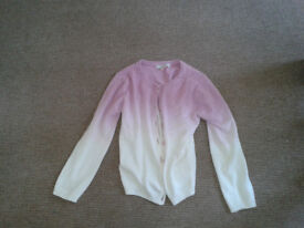 Girls' cardigan from M and S