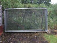 herras fence panels - dog and chicken runs