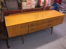 Antique Beech Veneered Bedroom furniture