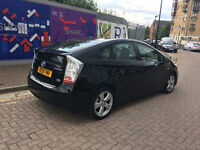 PCO 2012 toyota prius 1.8 hybrid electric automatic, met black, 88k f/s/h, 2 owner, hpi clear 100%