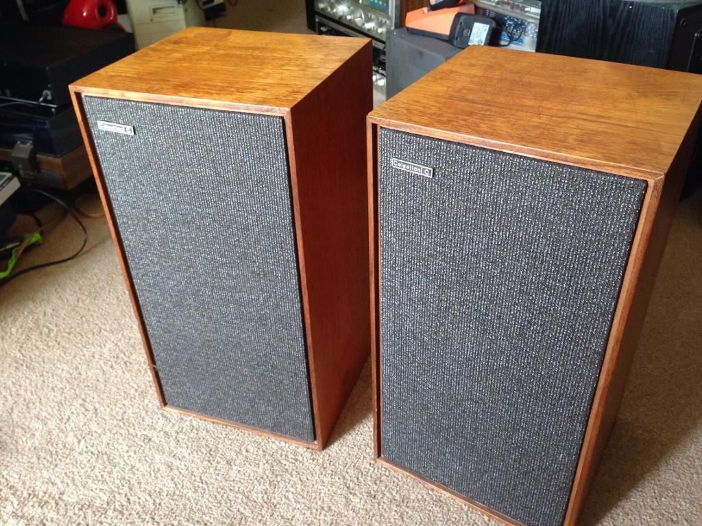 Celestion County Vintage Hifi Bookshelf Speakers