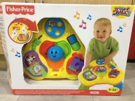 Fisher Price Lights & Sounds Activity Standing Table