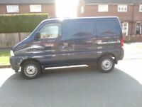 For sale - Suzuki carry van in excellent condition.