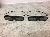 Samsung 3D Glasses in Good Condition