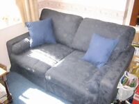 Two Seat Sofa in Blue