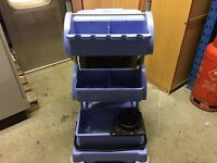 NUMATIC CLEANERS TROLLEY / JANITORS TROLLEY WITH MOP BUCKET