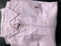 Polo shirt size 3 years old . Good condition.smoke free pet free house.