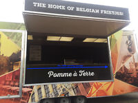 Catering Trailer/Chippy Trailer for large events or for semi-permanent location/lay-by