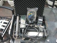 testo 325-1 gas annalizer and extras and pressure guage set