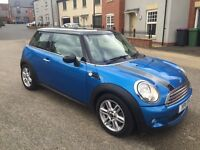 MINI 1.6 COOPER PIMLICO 3dr 2011! FULL CREAM LEATHER INTERIOR! 12 MONTHS MOT! 51K MILES!!!