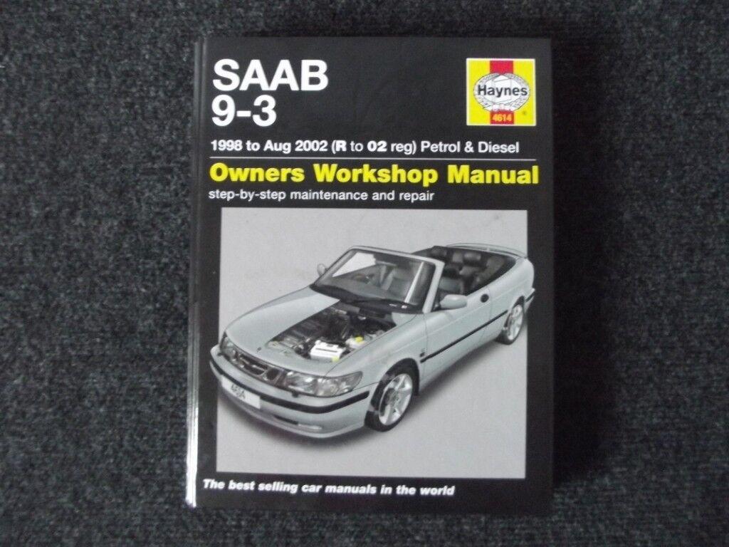Saab 9-3 Haynes Manual 1998-2002 (R-02)