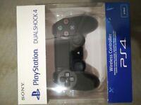 Sony PlayStation DualShock 4 Controller V2 BLACK BRAND NEW SEALED