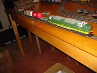 lima coco class oo ho frieght train set