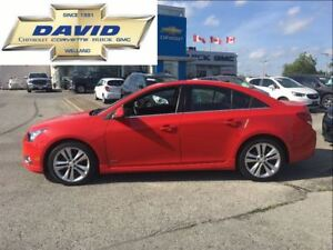 2014 Chevrolet Cruze 2LT RS, LOADED, LEATHER, SUNROOF !!!