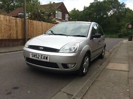 Ford Fiesta zetec low mileage