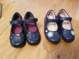 Navy girls shoes