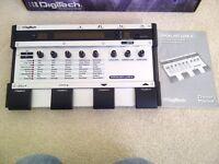 Digitech Vocalist Live 4 Harmony VL4 vocal effects processor harmonizer IV vl-4