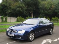 2004 (54) MERCEDES CLK 270 CDI **BARGAIN PX TO CLEAR - 118K - 2 P/OWNERS**