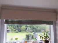 Pelmet & Blinds - Various, Quality, Like-New Condition