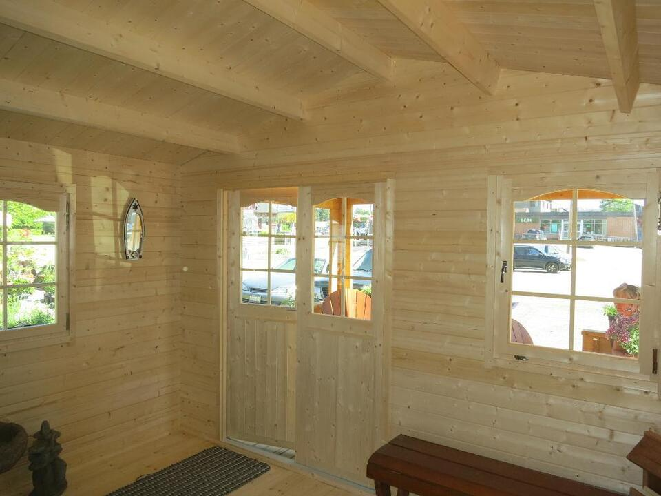 Build It Yourself Campers Build It Yourself Cabin Kits: Do It Yourself EZ LOG.CA Cabin Bunkie Garden Shed Cottage