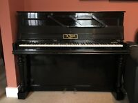 A.Bord Paris upright piano. Collection only.