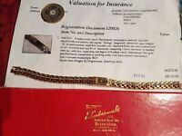 OMEGA Ladies watch, 18ct gold, 102 diamonds, worn only 3 hours, 1960's, original box superb conditio