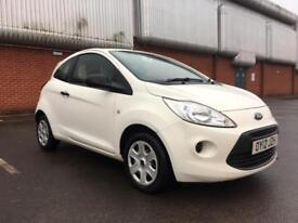 2012 Ford Ka 1.2 Studio, FSH, White, Excellent condition