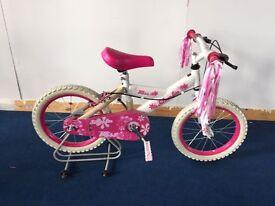 "16"" Silverfox Bliss Bike for Girls. *BRAND NEW*"