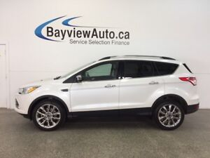 2016 Ford ESCAPE SE- ECOBOOST 4WD HTD STS REV CAM SYNC 4500 KM!
