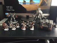 Warhammer 40k Grey Knight army Job lot with paints, tools and case.