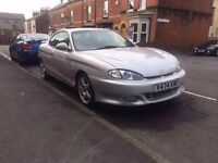 Hyundai coupe f2 evolution edition cheap with mot