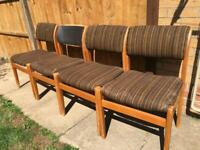 4 Parker Knoll dining chairs