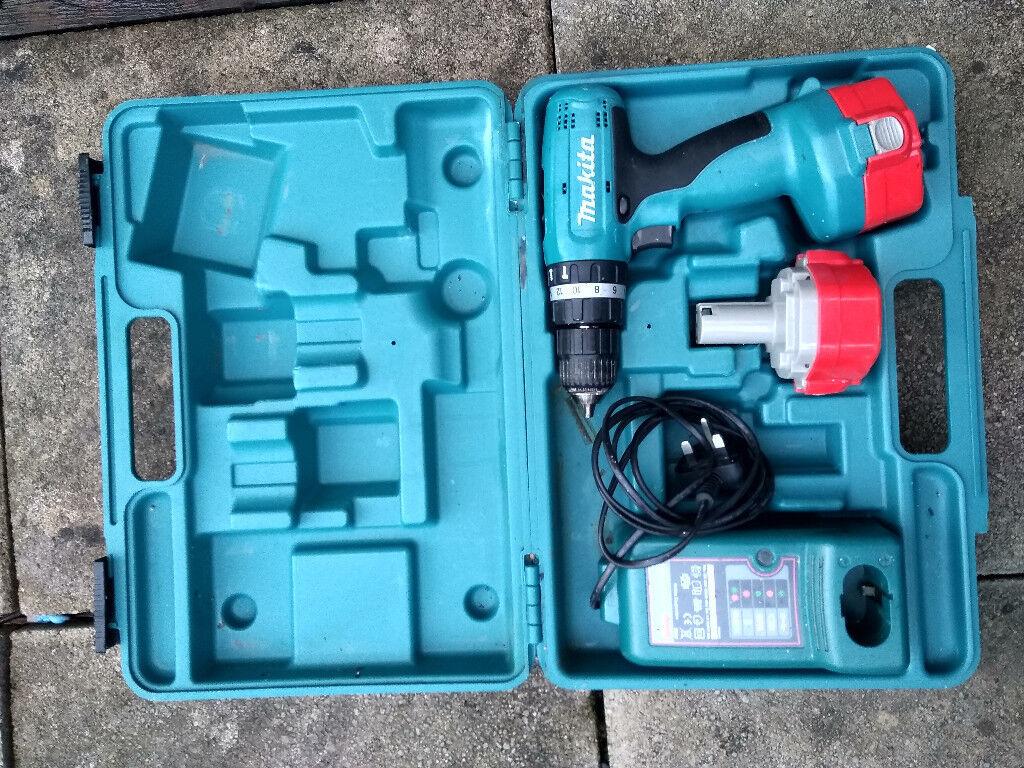 Makita 8280D 14.4V Cordless Hammer Drill