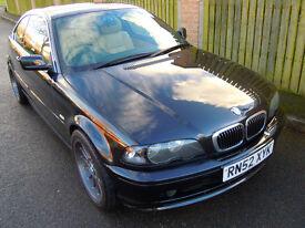 2003 BMW 320CI SE AUTO BLACK