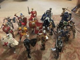 Papo Assorted Knights/ Romans etc