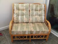 Conservatory Furniture Settee & Two Armchairs
